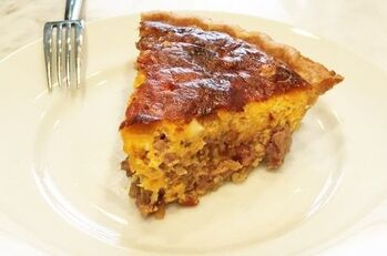Low Country Egg Pie